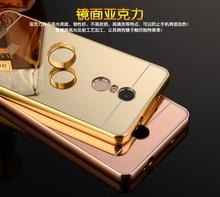 For Xiomi Redmi note 4 case cover slim aluminum Luxury Xiaomi Redmi note 4 cover case Metal Frame For Xiaomi Redmi note4 case
