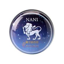 1 Pc da Constelação de Leo Perfumes Sólidos Mágicos Perfume Fragrância Desodorante