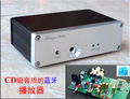 Brisa AK4490 SNY-10A HiFi Audio Bluetooth Receptor de Audio DAC Mini Casa Caja De Aluminio Amplificador de Auriculares + Adaptador de Corriente