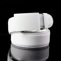 New Young Man Belt Chastity Belt Brand Designer Belt White Belts Black Belt For Men Plain