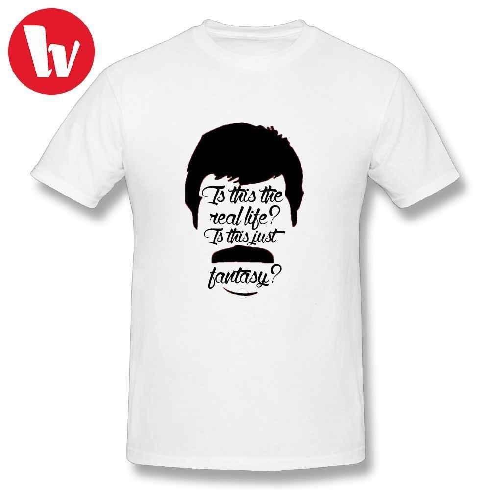 2eb8d9ad Queen Band T Shirt Rock Bohemian Rhapsody T-Shirt Letter Print Graphic Tee  Shirt Summer