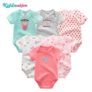Image 3 - Newborn Baby Rompers Boys/Girls Playsuits Clothes 100%Cotton Striped Cute Jumpsuit  Infant Girl Body Romper Clothing for 0 1Year