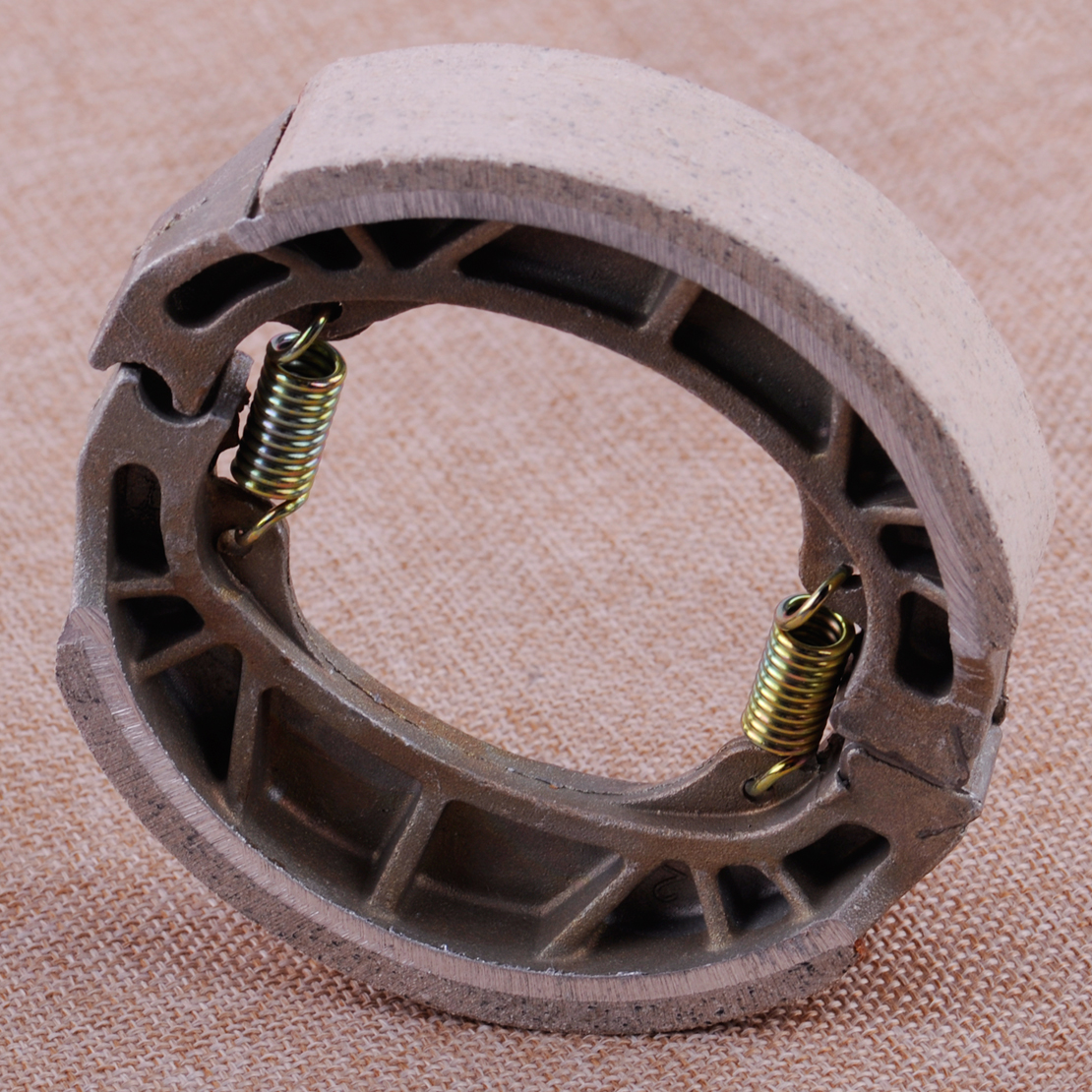 CITALL Motorcycle 105mm Rear Drum Brake Pads Shoes Pads fit for 50cc 110cc 125cc 150cc Gy6 Moped Scooter promax driven wheel block for gy6 150cc scooters atvs go karts moped quads 4 wheeler dune buggys
