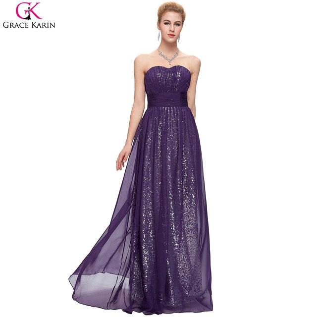 Purple Prom Dresses Green