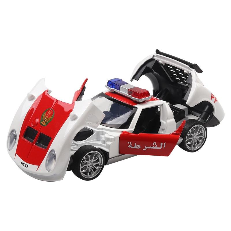 New 1 32 For Lamborghini Miula Dubai Luxury Police Model Car Alloy
