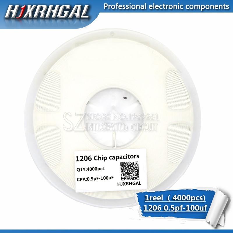 1reel 1206 smd capacitor ceramic 0.5pF-100uF 1.2pf  1.8pf  2.2pf 5.6pf 6.8pf 4.7nf 5.6nf 68nf capacitors kit sets hjxrhgal1reel 1206 smd capacitor ceramic 0.5pF-100uF 1.2pf  1.8pf  2.2pf 5.6pf 6.8pf 4.7nf 5.6nf 68nf capacitors kit sets hjxrhgal
