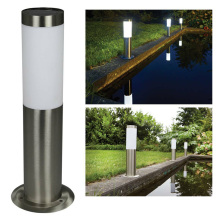 E27 газон забор путь декоративный водонепроницаемый столб светильник пастбище из нержавеющей стали двери современный пейзаж Открытый сад