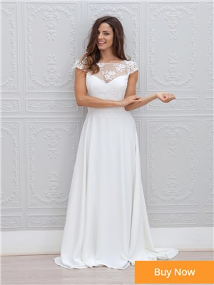 Robe-de-Marie-2015-Charming-Wedding-Dress-Lace-Bridal-Gowns-High-Neck-Beach-Wedding-Dresses-With