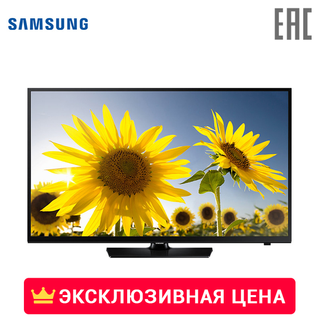 "Телевизор LED 24"" Samsung UE24H4070AUXRU HD-ready"