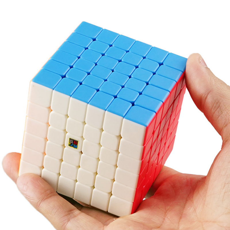 MOYU MF6 stickerless magic speed cube Mofangjiaoshi 6x6x6 professional puzzles cubes educational cubo magico toys for children