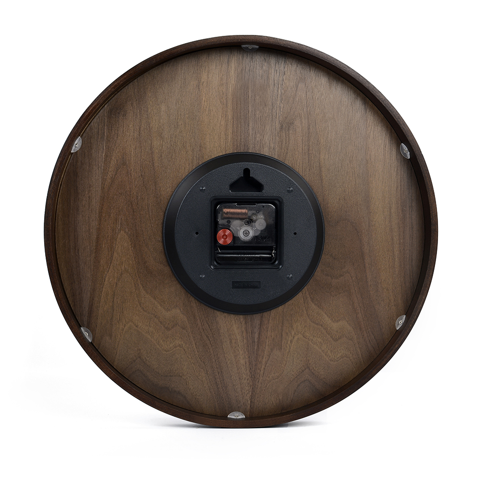 Aliexpress buy large size big 14 inch wood wooden wall aliexpress buy large size big 14 inch wood wooden wall clocks for home office decor simple design watch wall clock no glass from reliable designer amipublicfo Gallery