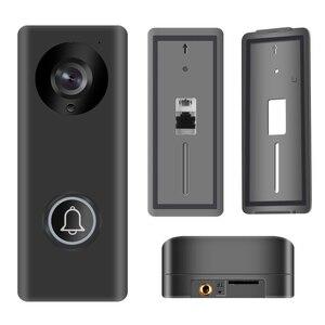 Image 3 - Intercomunicador inalámbrico con WiFi para puerta, cámara con detección de movimiento, alarma, desbloqueo remoto, 1080P