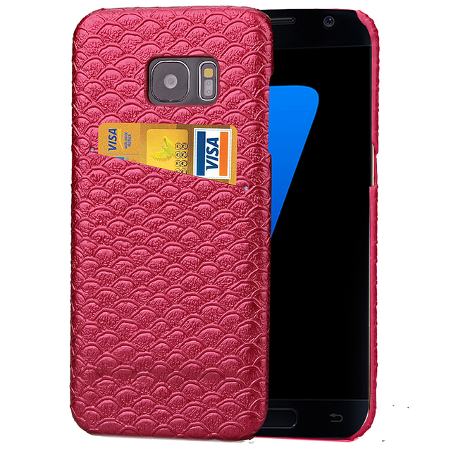 sale retailer 18160 c4527 US $2.95 |For Samsung Galaxy S7 Case Mermaid Lines Leather Skin Back Cover  For Samsung Galaxy S7 Edge Card Slot Mobile Phone Cases Cover-in Wallet ...