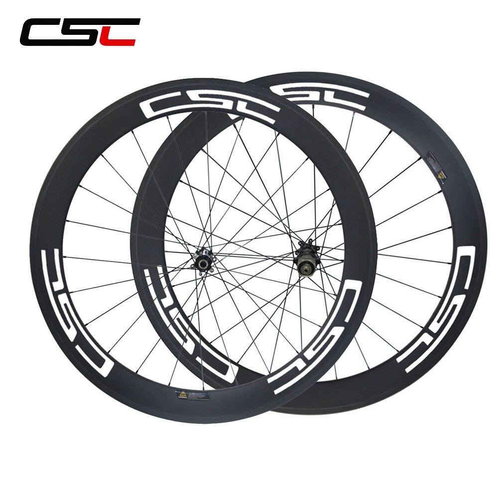 CSC D411SB D412SB Disc brake 15mm 12mm 12x142mm 60mm Bicyle wheels Cyclocross Wheelset Mac aero CN