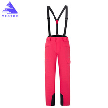 Winter Ski Pants 2019 New Women Outdoor High Quality Windproof Waterproof Warm Couple Snow Trousers Ski Snowboard Pants Brand цены онлайн