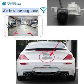 YESSUN For BMW 6 M6 E63 E63N E64 E64N 2003~2010 for BMW 6 F12 F13 F06  wireless car reversing camera waterproof Full HD