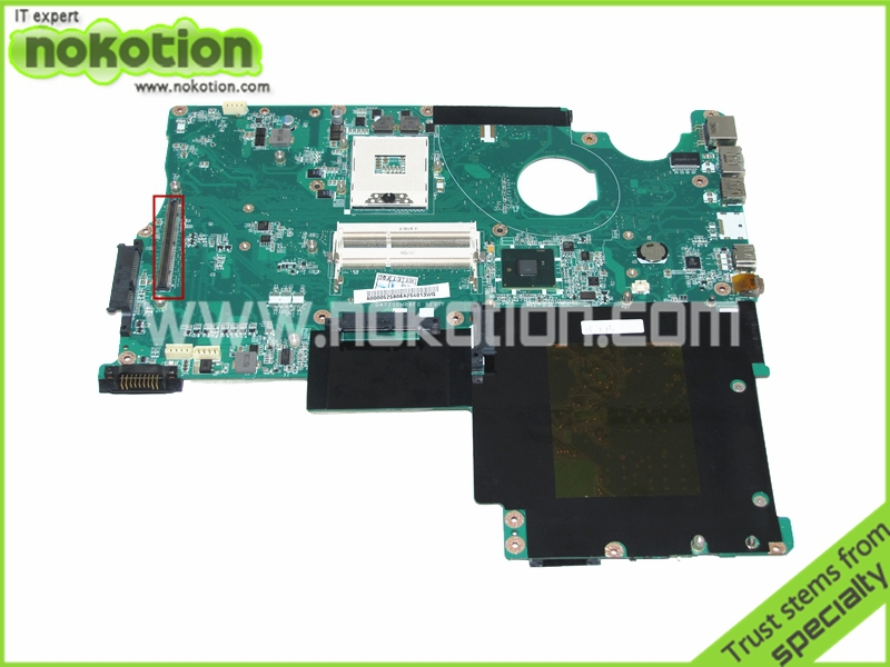 NOKOTION A000052580 31ZT1MB01W0 DATZ1CMB8F0 for Toshiba Qosmio P505 X505 laptop motherboard PM55 DDR3 with graphics slot a000053140 fit for toshiba qosmio x500 x505 p500 p505 laptop motherboard 100% fully tested