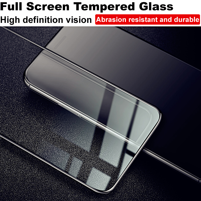 Image 5 - for moto z4 Glass IMAK Full Coverage Screen Film For Motorola Moto Z4 Full Screen Protector moto z4 9H Full Glue Tempered Glass-in Phone Screen Protectors from Cellphones & Telecommunications