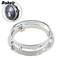 Mounting Bracket Ring Mount Brackets 7 Inch Round Headlight Motorcycle For Harley Davidson Off Road Jeep
