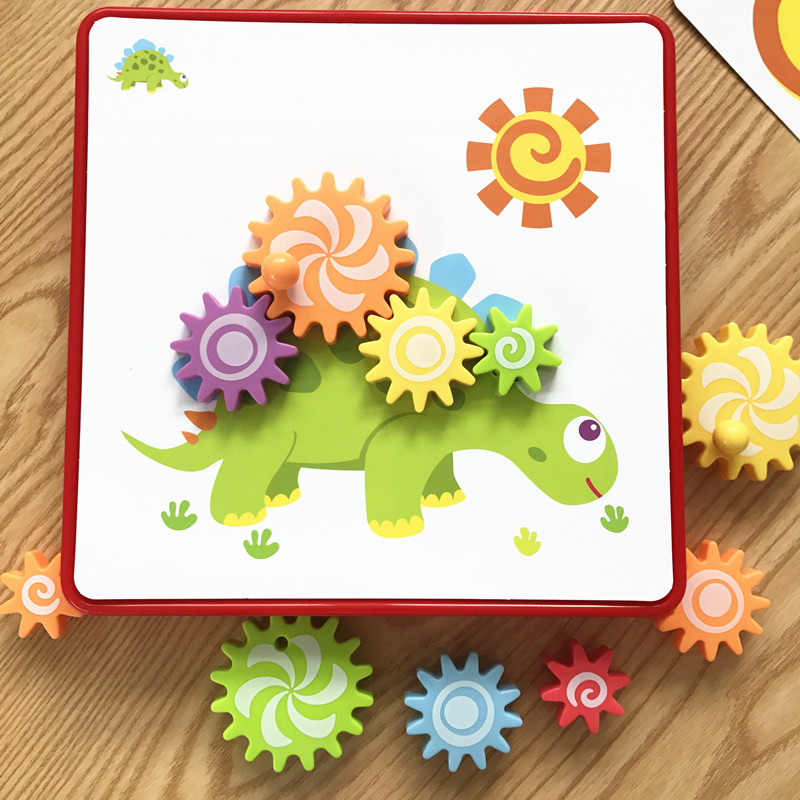 Toys for children Gear Mushroom Nail Toys 3D Jigsaw Puzzle Toy Educational Kids Games Develop Imagination puzzles for childrren learning card games jigsaw puzzles for kids zabawki edukacyjne children toys brain games juegos educativos early educational toy