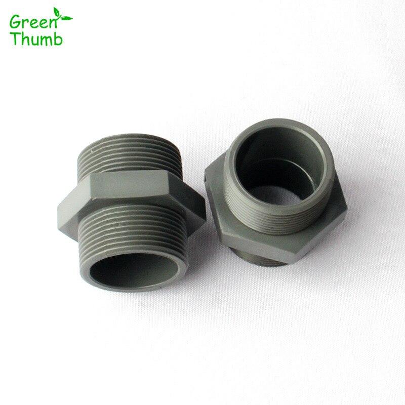 Schlussverkauf 40mm X 32mm Slip X Slip Weiße Pvc Wasserleitung Gerade Connect Koppler Sanitär