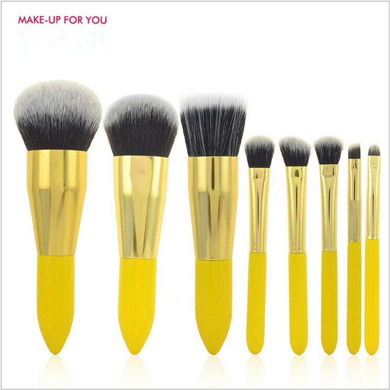 8pcs Makeup Brushes Foundation Blending Blush Make up Brush Beauty tool Kit Set