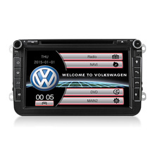 1 DIN 8inch TFT Capacitive Touch Screen Original Factory Style Car Radio For VW/Skoda/Passat/Golf Seat Sharan CANBUS