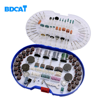 BDCAT 276PCS Rotary Tool Bit Set Electric Dremel Rotary Tool Accessories for Grinding Polishing Cutting mini drill