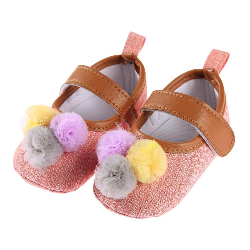 3 Colors Newborn PU Leather Baby Boy Girl Baby Moccasins Shoes The bulb Embroidery Soft Soled Non-slip Footwear Crib Shoes