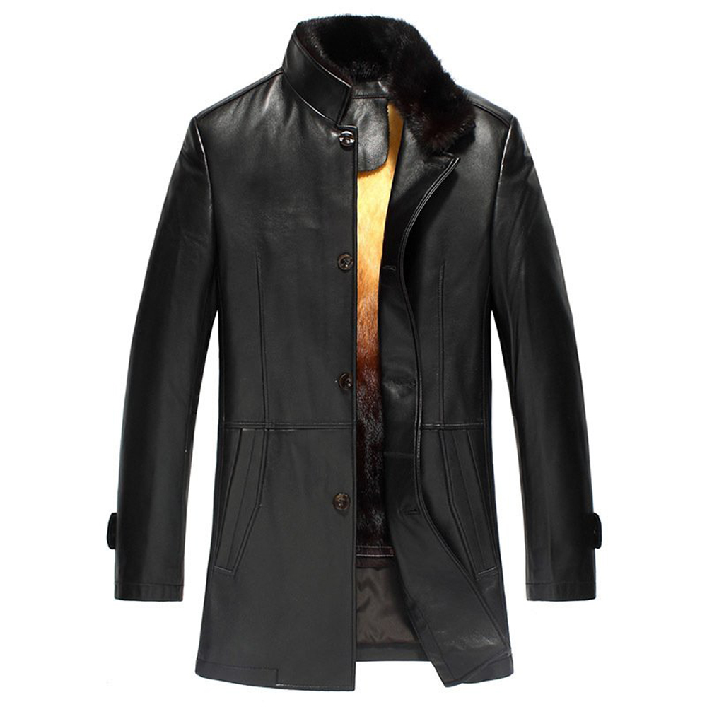 Mink Lined Trench Coat Promotion-Shop for Promotional Mink Lined ...