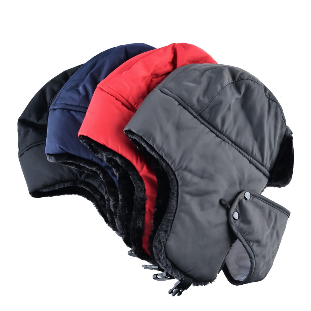 bc1f5d5da72 ... russian ushanka caps men  Style2  Winter hat bomber hats for men  thicken balaclava