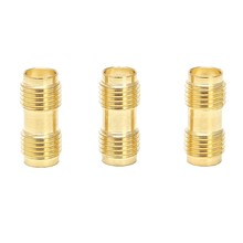 3 Pcs RF Connector SMA Female to SMA Female SMA-F to SMA-F Antenna Adaptor For Two Way Radio L15(China)