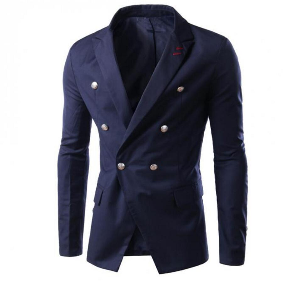 Fashion font b Men b font font b Suit b font Jacket high quality Long Sleeves