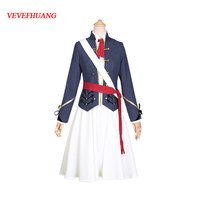 VEVEFHUANG 2018 Hot Game Girls Frontline M1903 Springfield Rifle Unifrom Cosplay Costume Full Set For Women Halloween
