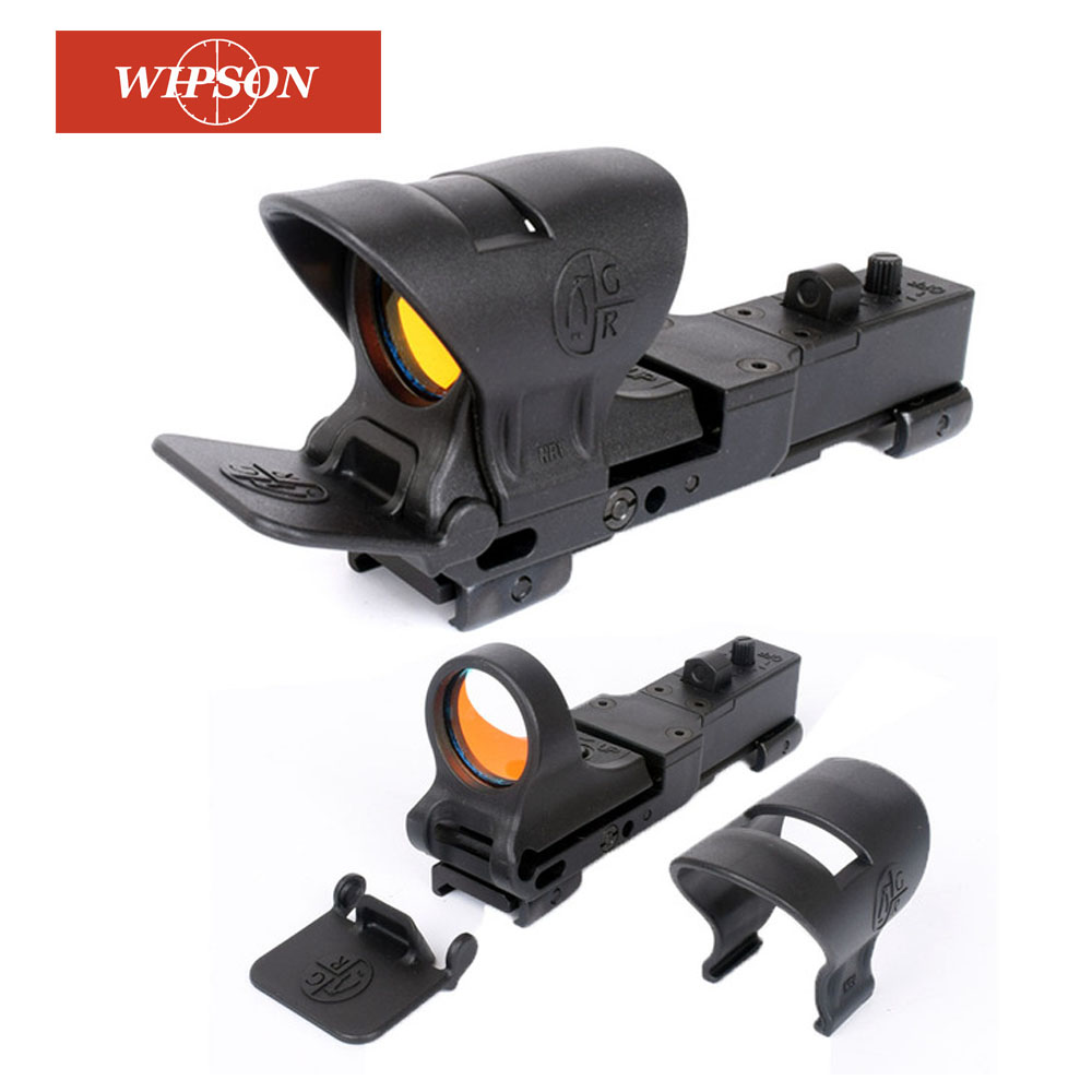 WIPSON Hunting Collimator Sight Railway Reflex C-MORE Adjustable Tactical Hunting Red Dot Sight