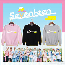 KPOP Korean Fashion SEVENTEEN 17 Member Very Nice Album Cotton Hoodies Clothing K-pop Pullovers Sweatshirts PT089