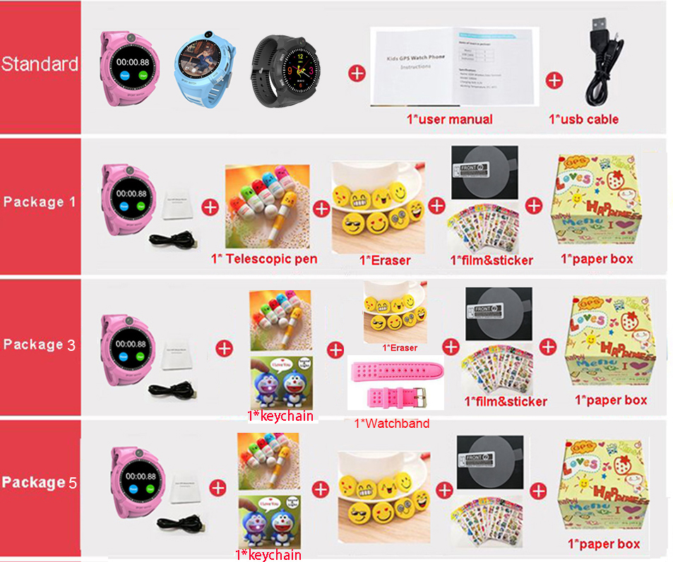 Image 5 - Q360 Kids Smart Watch with Camera GPS WIFI Location Child 