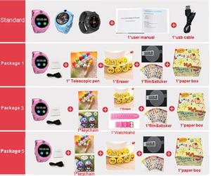 Image 5 - Q360 ساعة ذكية للأطفال مع كاميرا لتحديد المواقع واي فاي الموقع الطفل smartwatch SOS مكافحة خسر رصد المقتفي الطفل ساعة اليد PK Q528 Q90