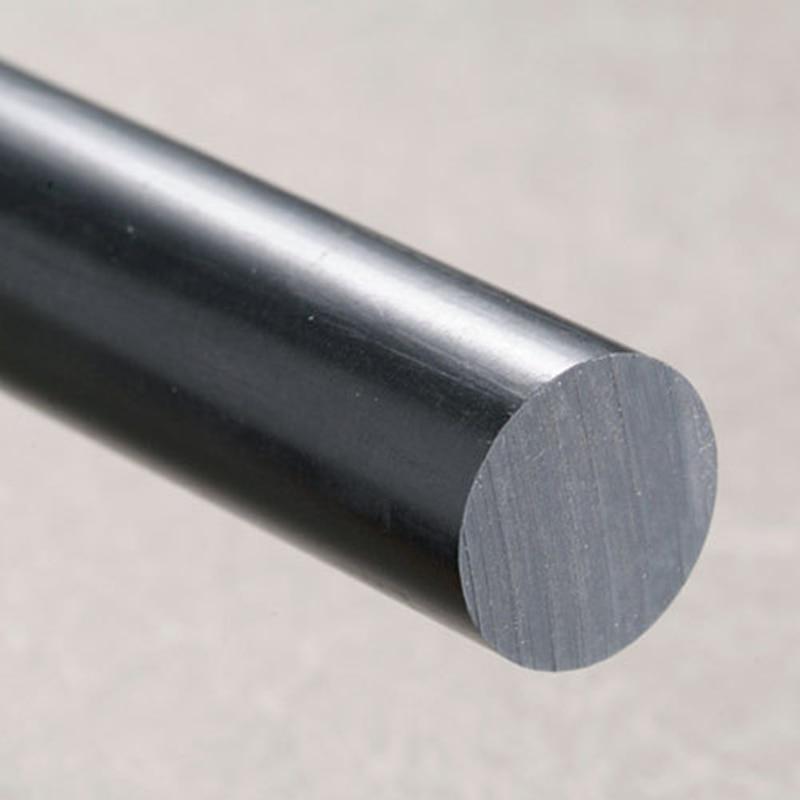 OD30x1000mm Acrylic Rod Black (Extruded) Plastic Towel Bar Acrylic Aquarium Perspex Furniture Home Improve Can cut into any size