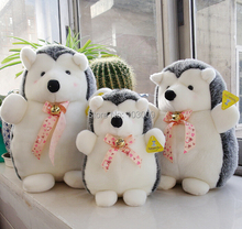 High Quality Kawaii  Tie Hedgehog  Plush Large Doll Kids Toys Baby Gift one piece
