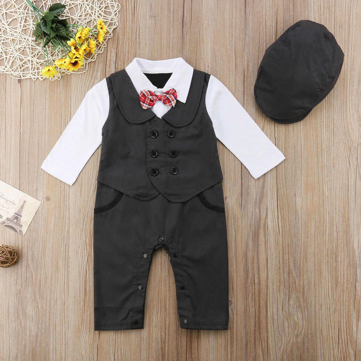 ef9235d5a Detail Feedback Questions about Newly Toddler Baby Boy Formal Suit ...