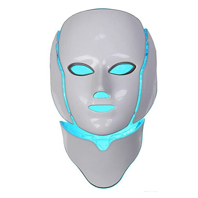 Korean LED Photodynamic Masks 7 Colors Lights LED Photodynamic Facial Mask Home Use Beauty Equipment Anti-acne Skin Rejuvenation 2