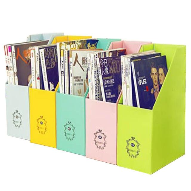 fournitures scolaires et de bureau kraft papier document plateau porte revues bureau racks bureau organisateur