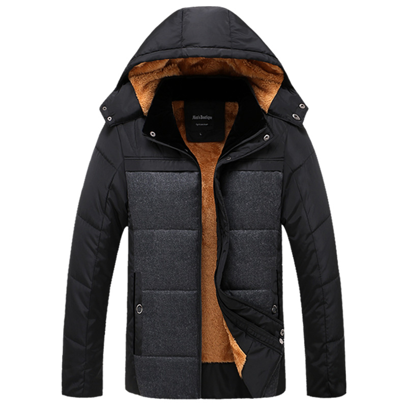 2016 New Fashion Men s Clothing Windbreaker Sportswear Bio Down Winter Warm Jackets And Coats For