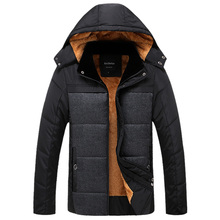 New Fashion Men s Clothing Windbreaker Sportswear Bio Winter Warm Jackets And Coats For Men Thick