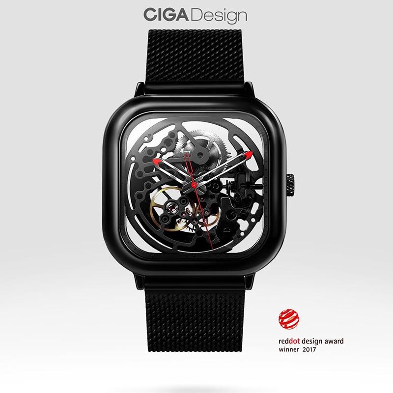 CIGA Design Mechanical Watch Stainless Steel