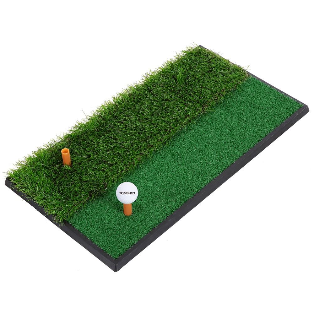 indoor mini golf tee golf training mat fairway rough turf backyard