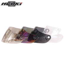 NENKI Motorcycle Full Face Helmet Modular Replacement Visors Sun Shields Lens Accessory 4 Colours for Brand NENKI Model 831