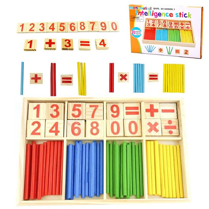 Aliexpress.com : Buy Children Wooden Number Math Teaching Kid ...