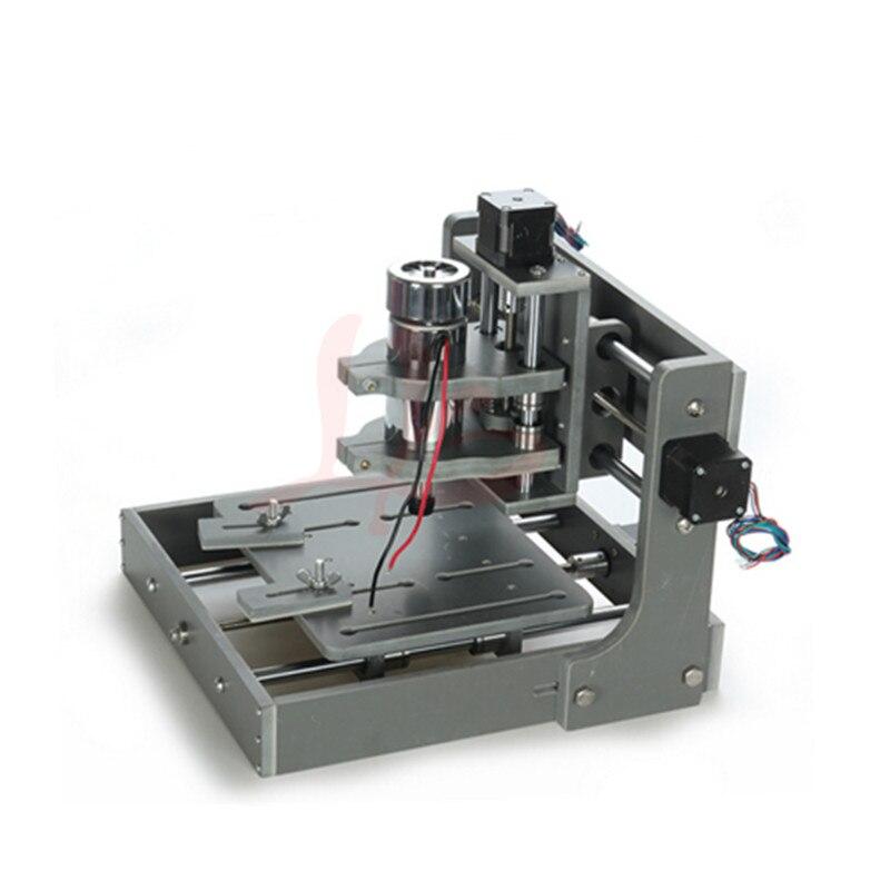 2020 MINI CNC routeur gravure Machine lpt port pour PCB travail du bois avec pince de coupe libre pince de forage